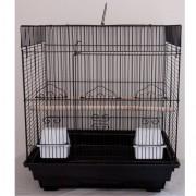 Max 602če Klec černá pro ptáky na papoušky 470 x 360 x 510 mm