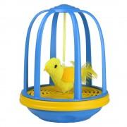 Pájaro en una jaula juguete para gatos - 1 unidad