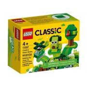 Lego Конструктор Lego Classic Зелёный набор для конструирования 11007