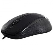 JB! Quantum QHM 232 BC 1000 DPI Wired 3D Optical (USB Black) Mouse for Laptop / Desktop