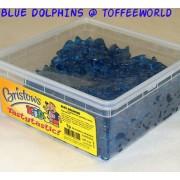 Juicee Gummee Mini Blue Dolphins Jelly Gummy Sweets