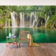 Fototapet vlies Cascada Plitvice (Dimensiune ( L x H): 432 x 290 cm)