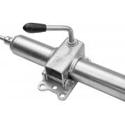 Držák opěrného kolečka s otočnou kličkou posílena 48 mm Winterhoff