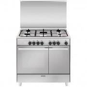 Glem Gas Ur965mi Cucina 90x60 5 Fuochi A Gas Forno Elettrico Ventilato Con Grill