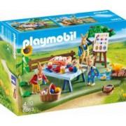 Atelierul de Lucru al Iepurasilor Playmobil