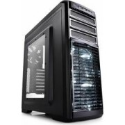 Carcasa DeepCool Kendomen TI Windowed fara sursa Titanium Gray
