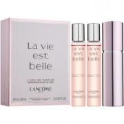 Lancôme La Vie Est Belle eau de parfum para mujer 3 x 18 ml (1x recargable + 2x recarga)