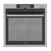 AEG BSE874320M Single Built In Electric Oven - Stainless Steel