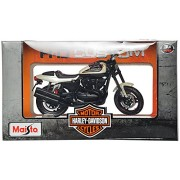 Maisto Harley Davidson 2011 Xr1200X Scale-1:18 Die Cast Toy Motorcycle (Black & White)