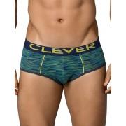 Clever Opera Piping Brief Underwear Green 5199