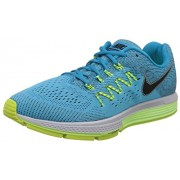 Nike Men's Air Zoom Vomero 10 Blue Lagoon, Black, Ghost Green and Volt  Running