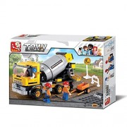 Construction-Cement Mixer Truck (296PCS)