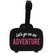Tootpado Lets go on a Adventure - (LNTg220) Luggage Tag(Black)