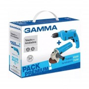 Pack Premium Gamma Taladro 650W + Amoladora 750W