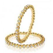 VK Jewels Traditional Gold Plated Bangles- BG1073G [VKBG1073G]