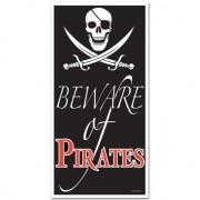 Geen Piraat feestje deurposter