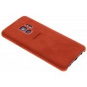 Samsung Alcantara leather cover - rood - voor Samsung Galaxy S9