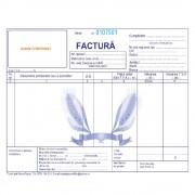 Seturi Facturi Personalizate A5 in 3 Exemplare, Tipar 1+0, Formulare Tipizate Autocopiative, Facturier Personalizat, Tipizate Personalizate, Formulare Autocopiative Personalizate