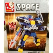 SLUBAN SPACE MORKING-HANRIES 277 PIECE SET LEGO COMPATIBLE