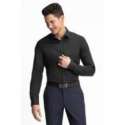 C&A Businesshemd Slim Fit, Zwart, Maat: 44