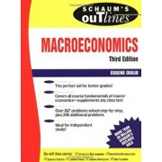 Schaum's Outline of Theory and Problems Macroeconomics, Paperback/Eugene A. Diulio