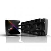 Водно охлаждане за процесор Asus ROG RYUJIN 360, съвместимост с LGA 1150/1151/1152/1155/1156/1366/2011/2011-3/2066, AMD AM4/TR4, Aura Sync RGB OLED подсветка