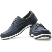 Clarks Orson Lace Boat Shoes(Navy)