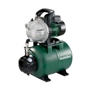 Metabo - HWW3300/25G - Hidrofor, 900 W, 8 m, 24 l, carcasa pompa fonta, monofazat