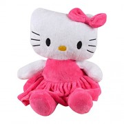 Baby Grow Baby Toys Music Pull Rattles Multi Functional Kids Bell Ring Paper Car Bed Hanging Strollers Toys (White Hello Kitty)