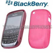 Softshell TPU Blackberry 8520 9300 Rosa HDW-34163-003