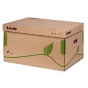 Container arhivare Esselte Eco, cu capac, pentru cutii 80/100