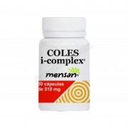 Mensan Coles i-complex (levadura arroz rojo, policosanol, cromo) - mensan - complementos alimenticios