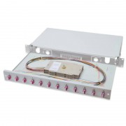 Digitus Profesional Caja de Empalme de Fibra Óptica 1U Equipada LC OM4