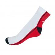 Infantia Ponožky Infantia Streetline červeno bílé L