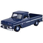 Cream 1966 Chevy C10 Fleetside Pickup 1:24 Scale Diec Cast