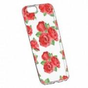 Husa Silicon Transparent Slim Rose 97 Apple iPhone 6 PLUS 6S PLUS