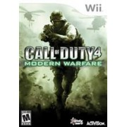Call Of Duty 4 Modern Warfare Ninterndo Wii