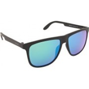 Carrera Wayfarer Sunglasses(Green)