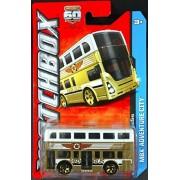 2013 Matchbox MBX Adventure City - Routemaster Double Decker Two-Story Bus