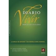 Biblia de Estudio del Diario Vivir-Ntv, Hardcover/Tyndale