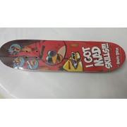 Angry Birds Multi Bird Skateboard, Red/Black (31-inch)