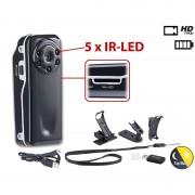 Somikon Mini-Überwachungs-Cam Raptor-720.ir mit HD-Video & Infrarot-Nachtsicht