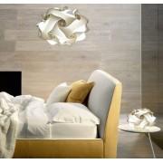 Lampadesign.com Lampadario moderno UFO Sala Cucina Camera da letto diam. 50 h 35 cm MONTATO colori a scelta