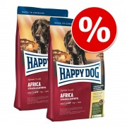 Pack Ahorro: Happy Dog Supreme - Sensible África 2 x 12,5 kg