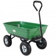 Wózek Transportowy 4 Kołowy Ogrodowy Przyczepka