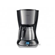 Cafetieră cu filtru Philips HD7470/20 Daily Collection negru-metalic