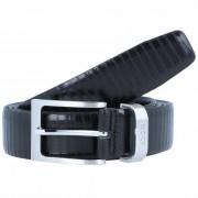 Joop! Coll.Belt Cinturón piel muy largo negro 140cm