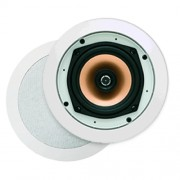 Badkameraudio Aquasound Samba DT Speaker Inbouw Rond 23x7.8cm Wit