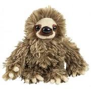 Wildlife Tree 6 Baby Three-Toed Sloth Stuffed Animal Zoo Plush