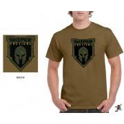 "Sniper Men ""Badge"" T-Shirt (Khaki)"